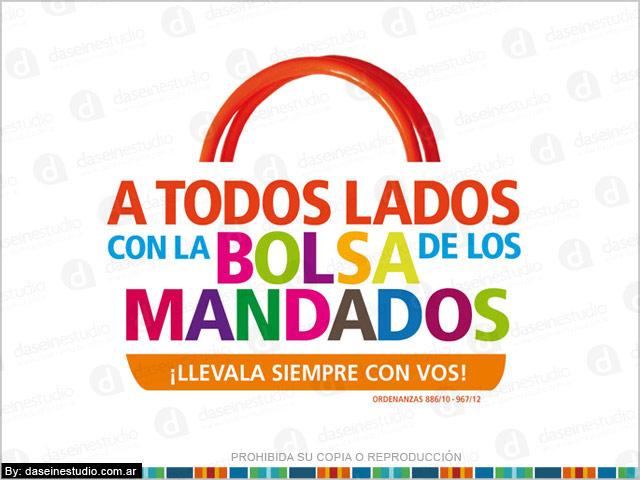 Diseño de logotipo - Campaña Bolsa de los mandados