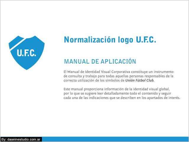 Tapa Manual de aplicación logotipo ufc