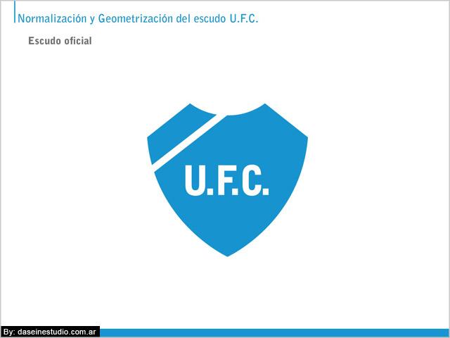 Escudo oficial Manual de aplicación logotipo ufc