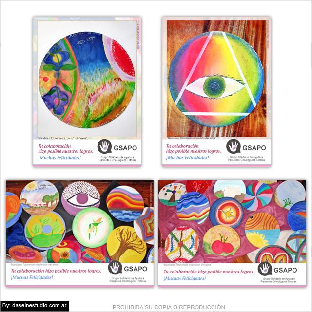 Diseño de tarjetas de salutación