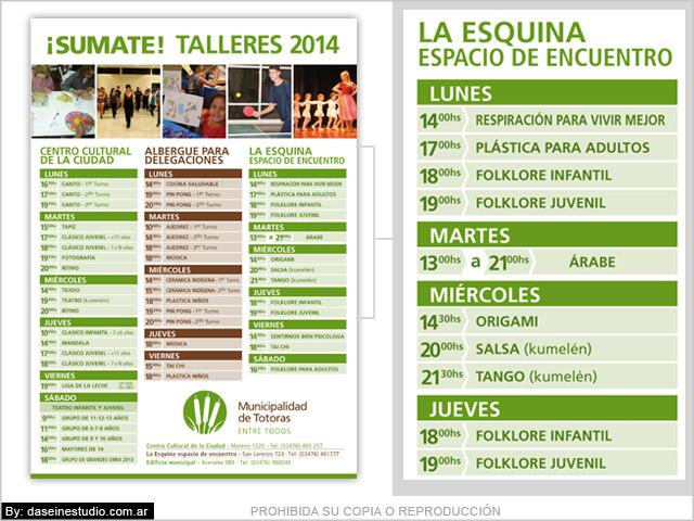 Diseño de cronograma de actividades - Diseño de afiches