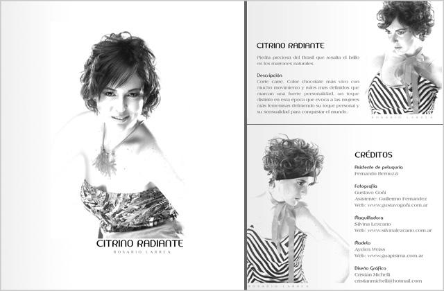 Diseño de Brochure de moda Modalité