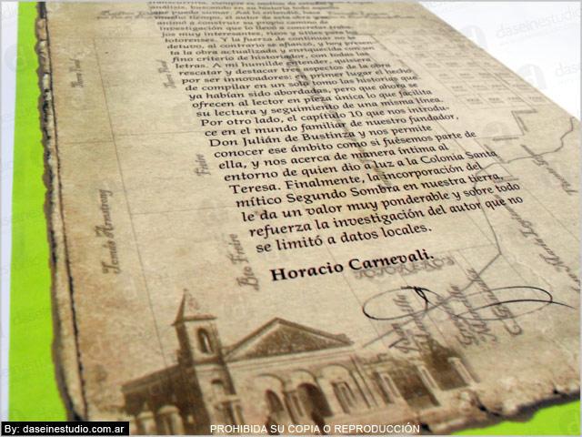 Diseño de portada para libro - Contratapa