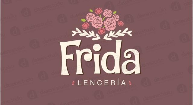 Diseño de logotipo Frida Lencería