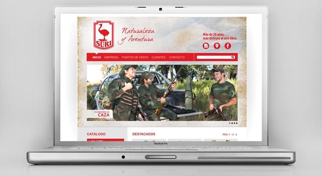 Diseño web Fábrica de indumentaria