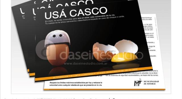 Campaña de seguridad vial USÁ CASCO