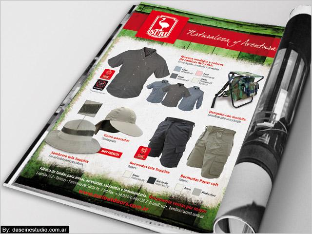 Diseño de aviso para revista Nº1
