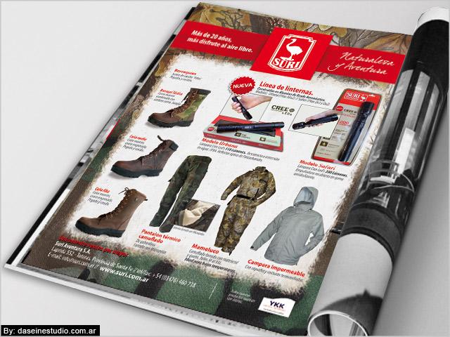 Diseño de aviso para revista Nº3