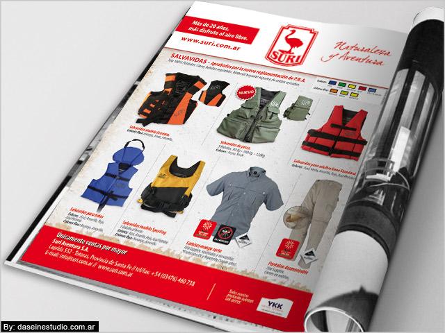 Diseño de aviso para revista Nº5