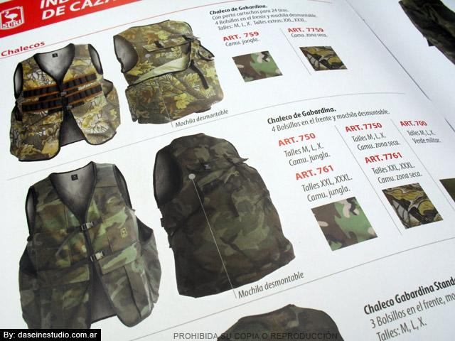 Diseño de Catálogo de Productos - Zoom Chalecos