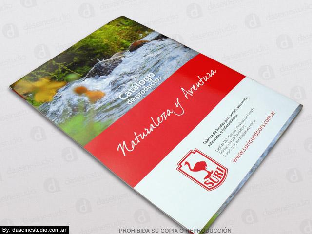 Diseño de Catálogo de Productos - Contratapa