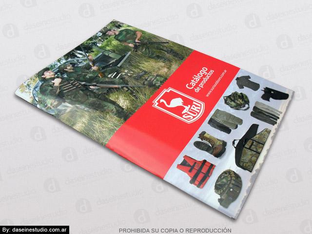 Diseño de Catálogo de Productos - Tapa