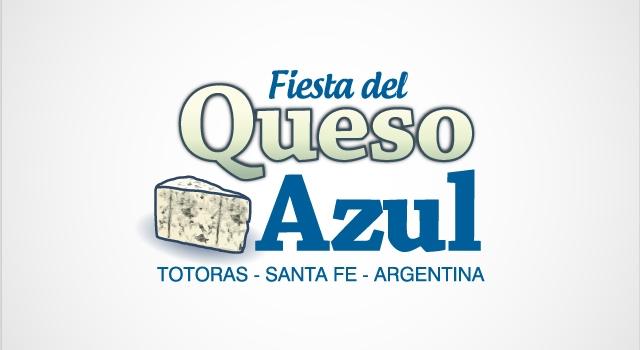 Diseño de logotipo Fiesta del Queso Azul