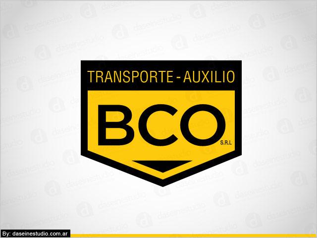 Diseño de logotipo BCO Auxilio y Transporte - Fondo blanco: normalización de logotipo.