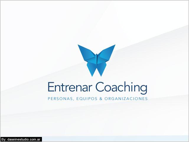 Diseño de logotipo Entrenar Coaching Rosario - Fondo blanco: Normalización de logotipo.