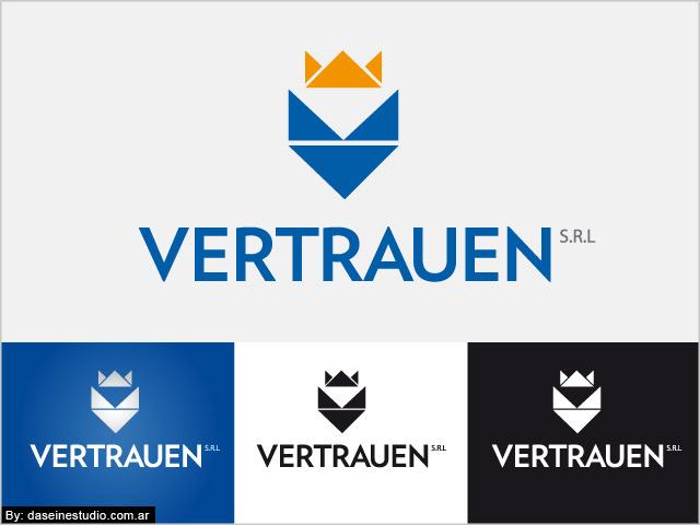 Diseño de logotipo Vertrauen SRL - Variantes de logo