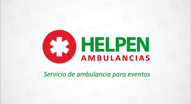 Diseño de logotipo Helpen Ambulancias
