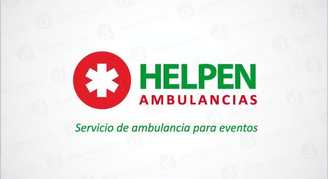 Diseño de logotipo Helpen Ambulancias