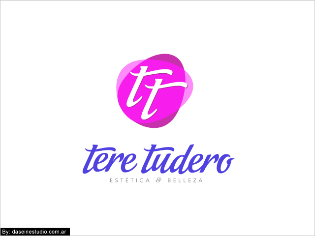 Diseño de logotipo Tere Tudero - Salamanca España - Fondo Blanco: normalización de logotipo.