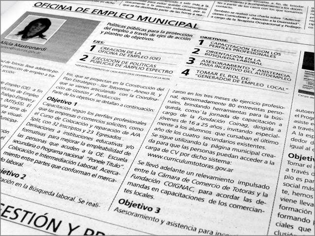 Diseño de Diario Resumen de Gestión - Detalle