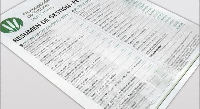 Diseño de Diario Resumen de Gestión