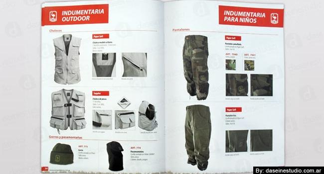 Diseño de catálogo de productos Rosario