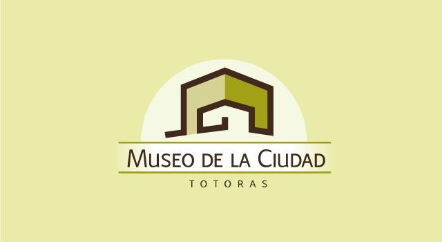 Diseño de logotipo Museo de la Ciudad - Fondo color claro
