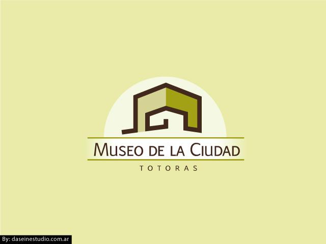 Diseño de logotipo Museo de la Ciudad - Fondo claro: normalización de logotipo.