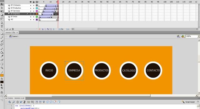 Animación interactiva- Diseño Multimedia Rosario