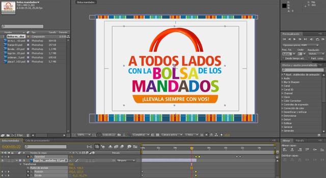 Spot para TV- Diseño Multimedia Rosario