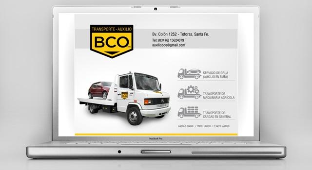 Diseño web responsive Auxilio BCO