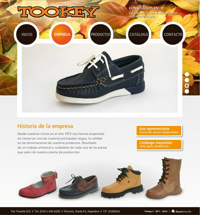 Diseño Web Rosario Fábrica de Calzado - Empresa