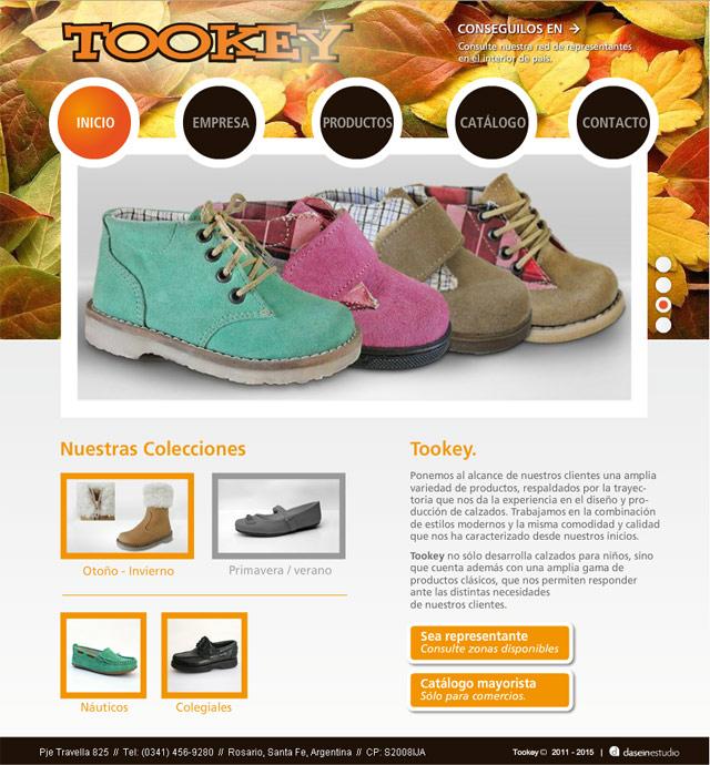 Diseño Web Rosario Fábrica de Calzado - Inicio