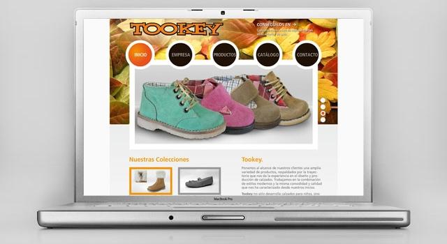 Diseno Web Rosario Calzados Tookey - Presentación