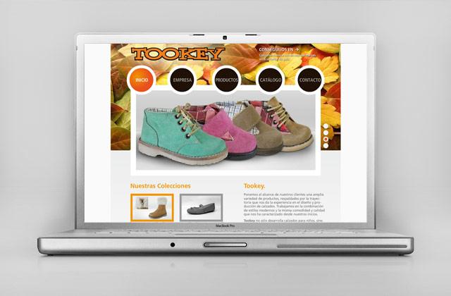 Diseño Web Rosario Fábrica de Calzado - Presentación