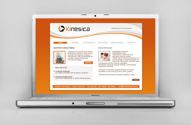 Diseño web Rosario Centro de Kinesiología - Presentación