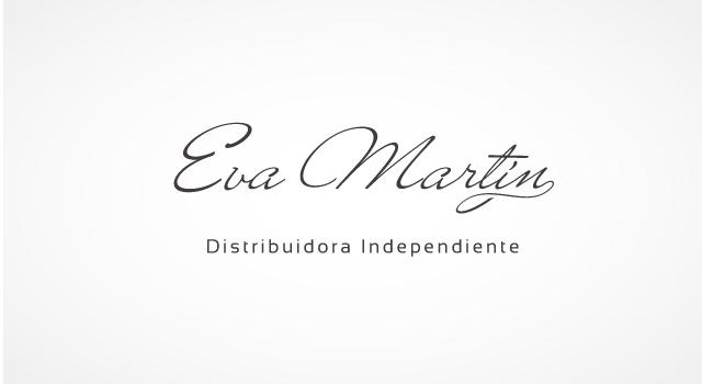 Diseño de logo Eva Martín | Distribuidora