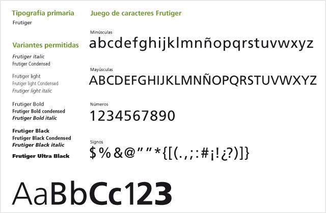Diseño de logotipo Municipalidad de Totoras - Manual de normalización: Tipografía.