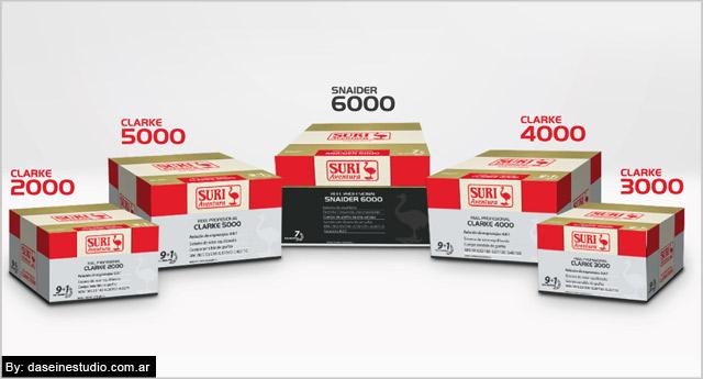 Diseño de Packaging línea de reeles profesionales
