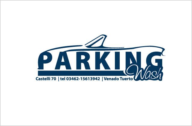 Diseño de logotipo Parking Wash