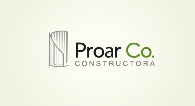 Diseño de logotipo ProAr Co Arquitectura