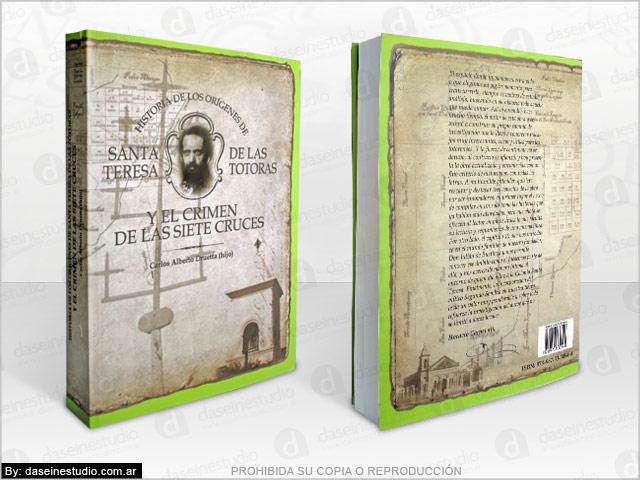Diseño de portada para libro - Vista 3D