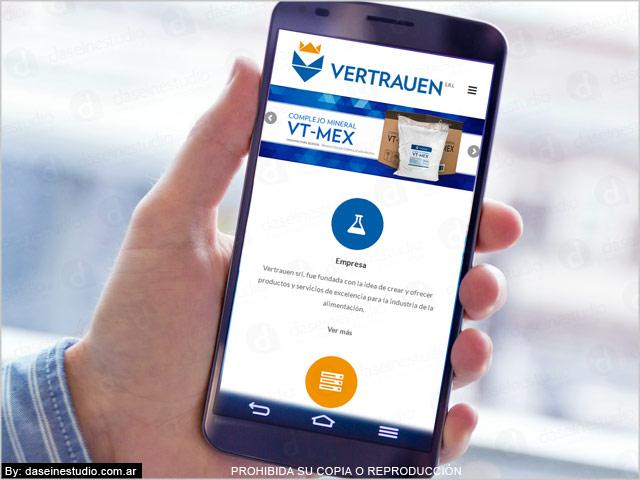 Diseño web responsive - Vista en teléfono celular SmartPhone