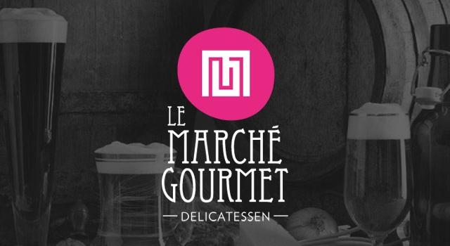 Diseño de logotipo Le Marché Gourmet
