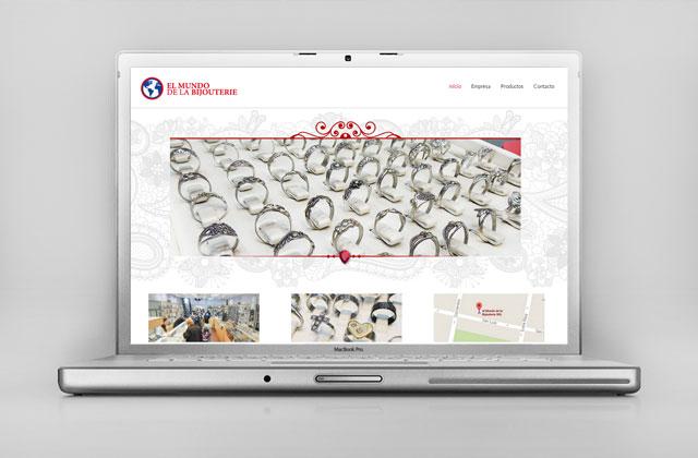 Diseño web responsive Bijouterie