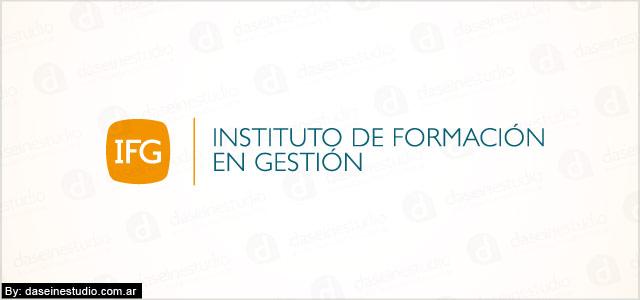 Diseño de logotipo IFG FEFARA Buenos Aires - Fondo Blanco: normalización de logotipo.