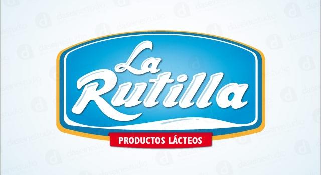 Diseño de logotipo La Rutilla Productos Lácteos