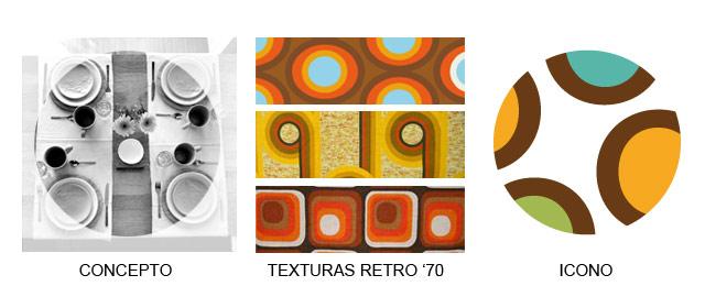 Diseño de logotipo bazar y regaleria Olivia - Evolución creativa