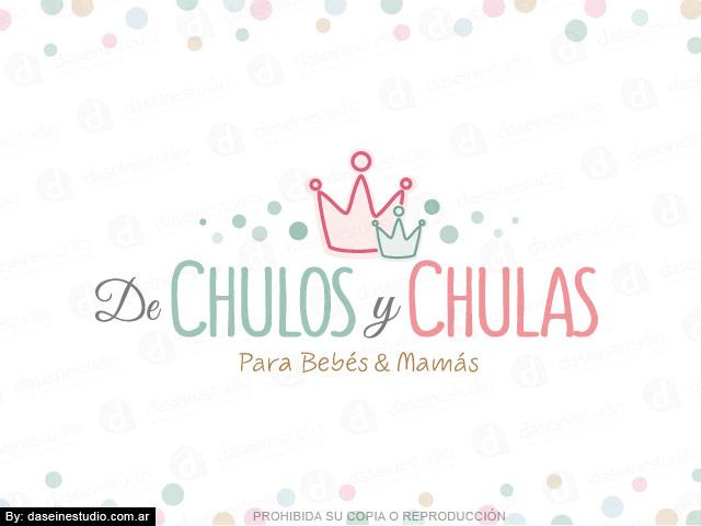 Diseño de Logotipo  Tienda Maternal Rosario - Argentina | Fondo blanco: normalización de logotipo.