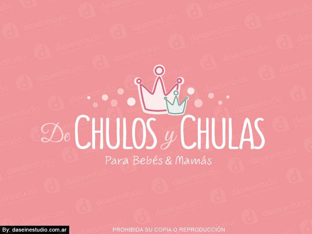 Diseño de Logotipo  Tienda Maternal Rosario - Argentina | Fondo rosa: normalización de logotipo.